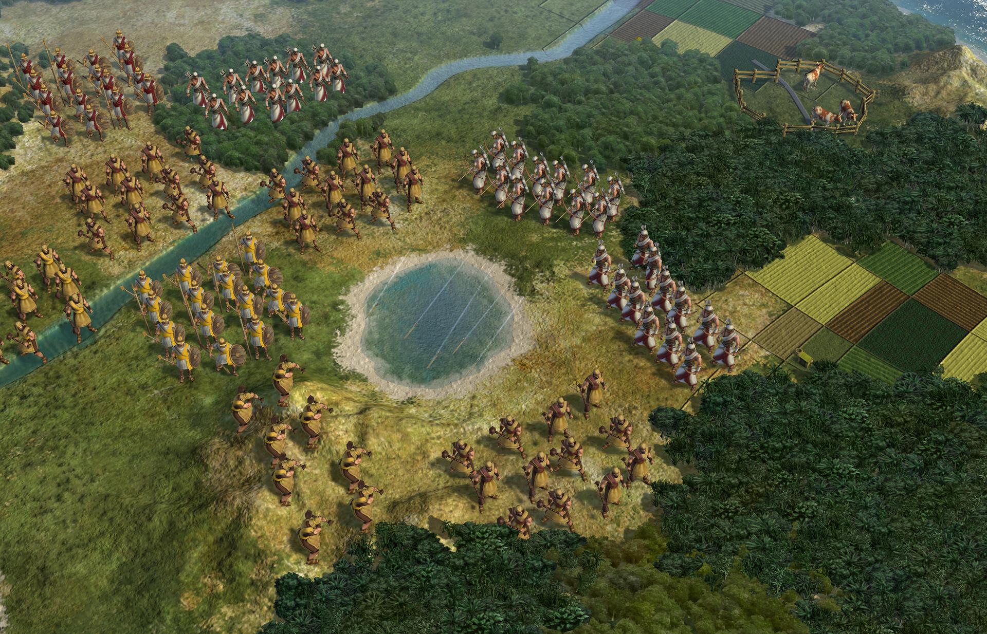 Civilization V screen