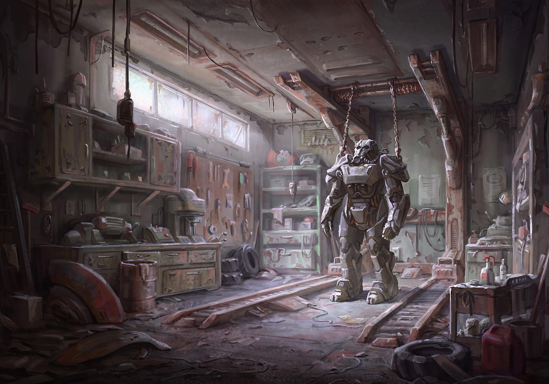 Fallout 4 screen