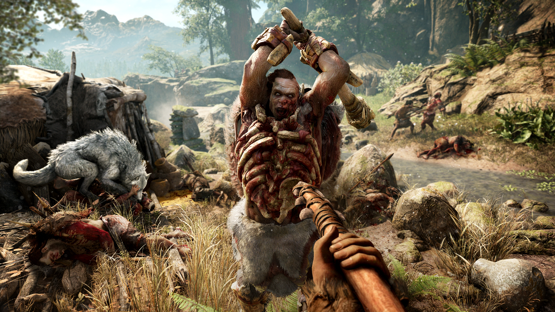 Far Cry Primal open world