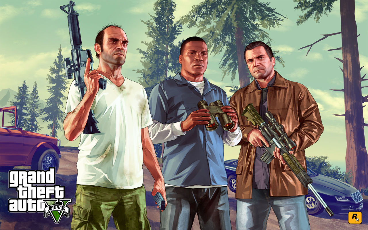 Grand Theft Auto V prezent