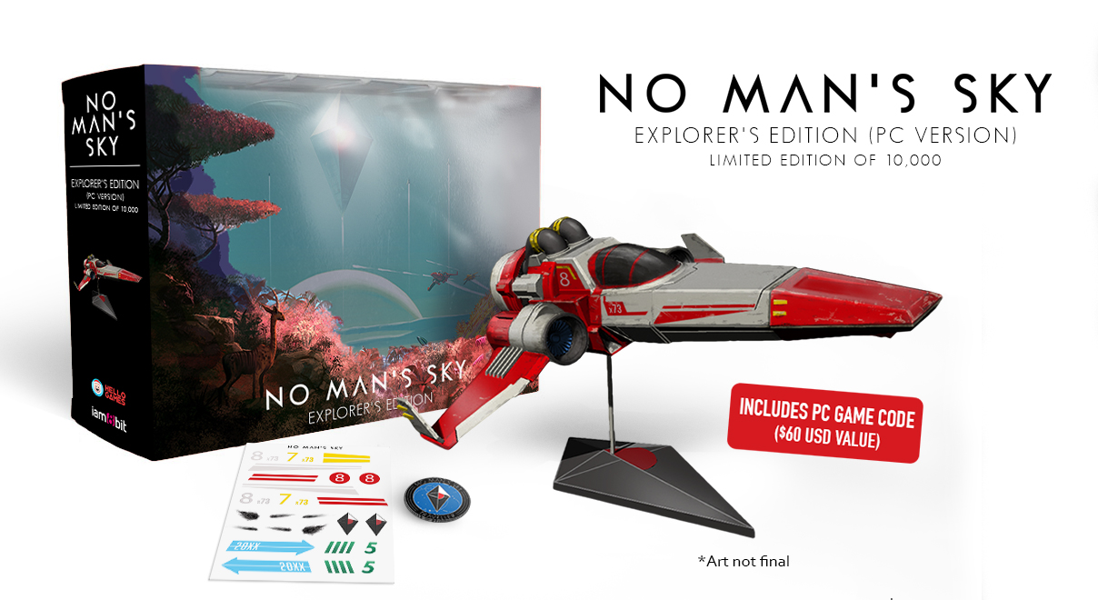 No Man's Sky Explorer's Edition