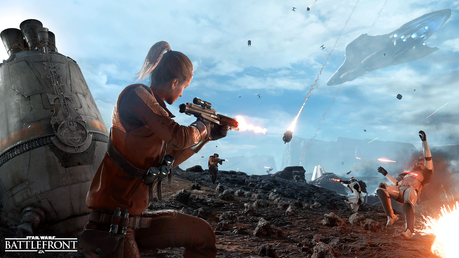 Star Wars Battlefront screen