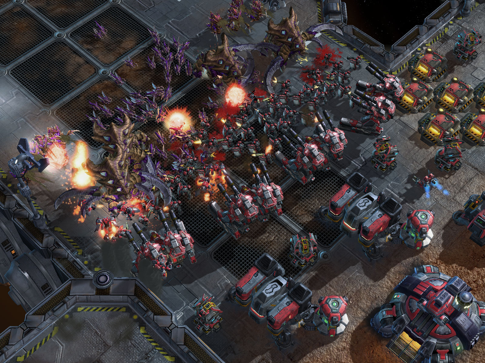 StarCraft II: Wings of Liberty Screenshot
