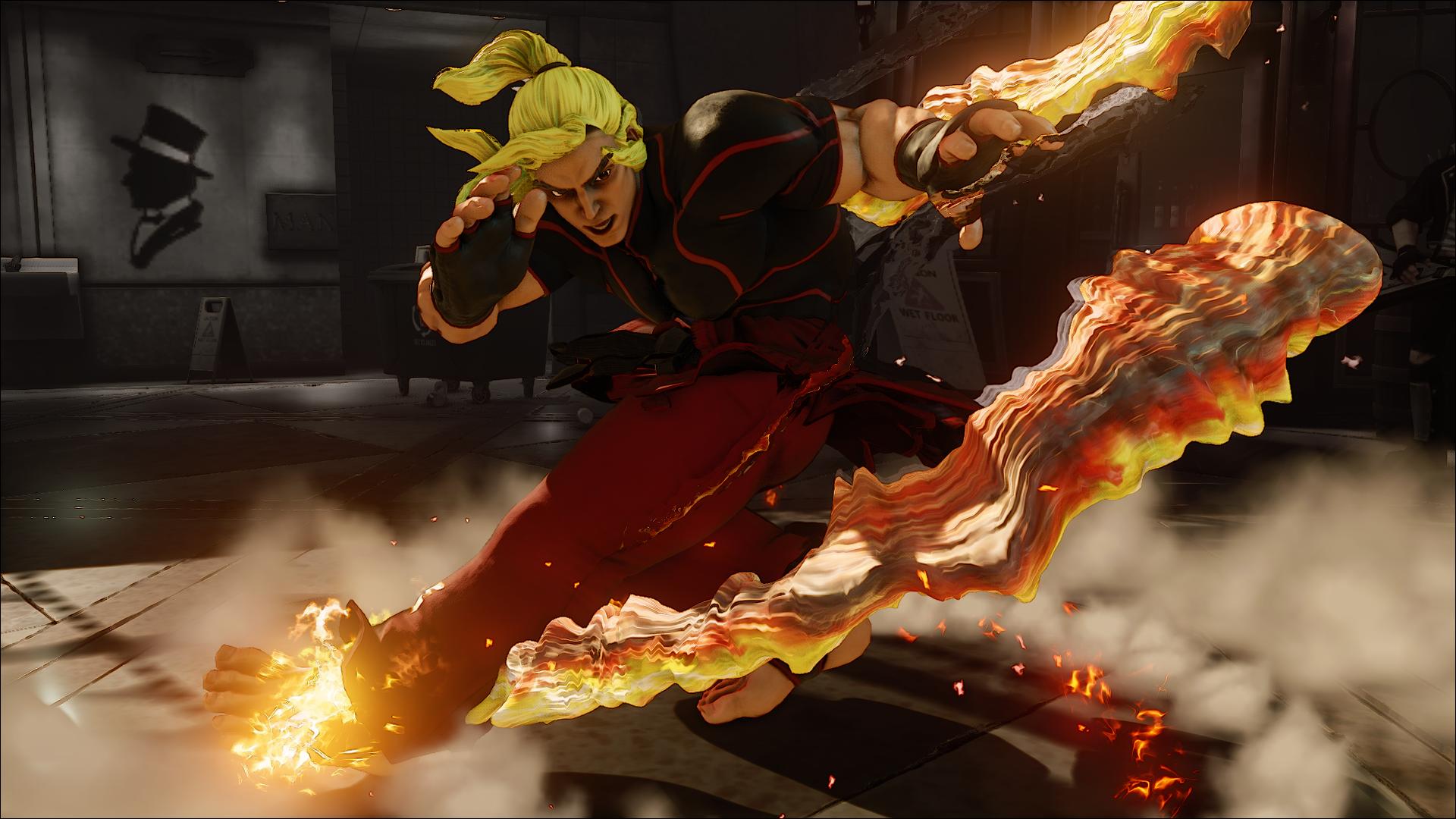 Street Fighter V wpis