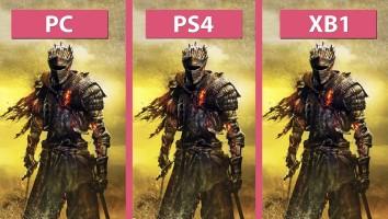dark souls 3 porównanie grafiki