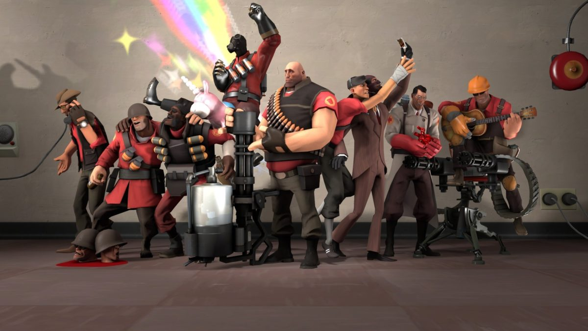 myszka do Team Fortress 2