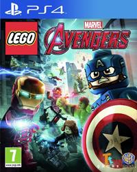 lego marvel avengers ps4 okładka