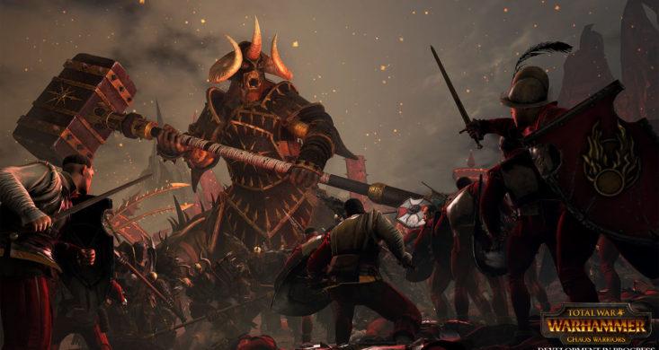 total war warhammer problem