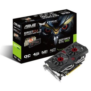 Asus GeForce GTX 960 DC2 OC Strix 4GB