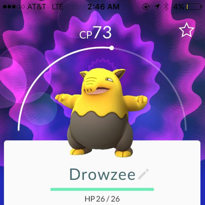 pokemon go Drowzee