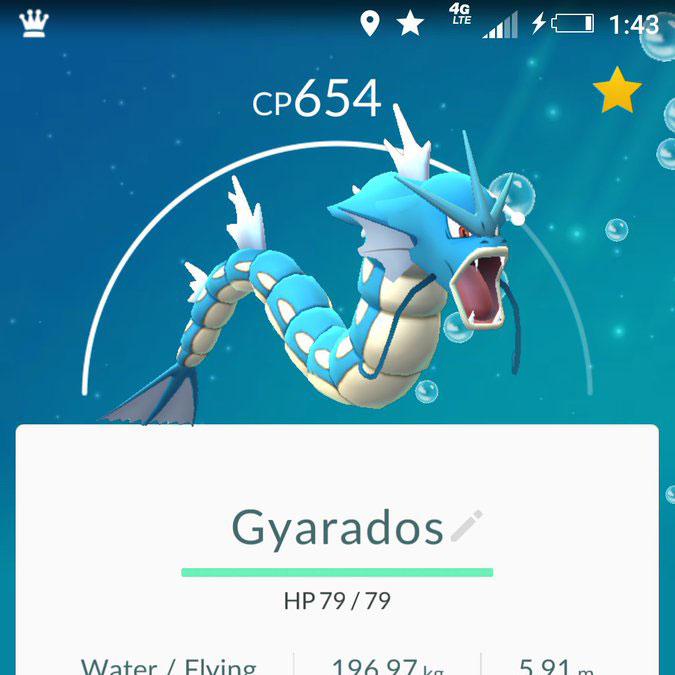 pokemon go Gyarados