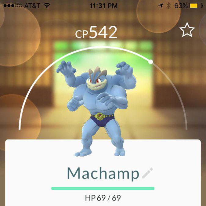 pokemon go Machamp