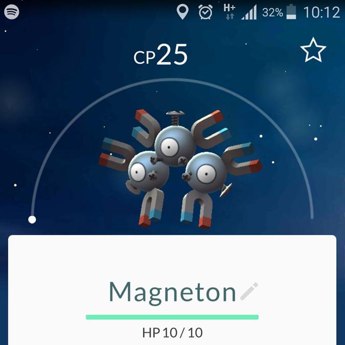 pokemon go Magneton