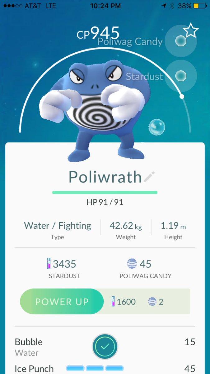 pokemon go Poliwrath