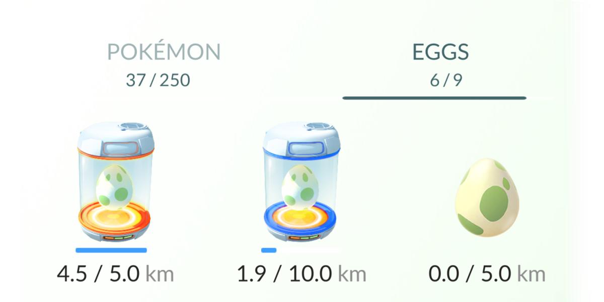 pokemon go jajka