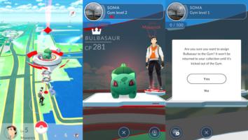 pokemon go obrona