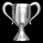 Playstation 4 srebrne trofeum