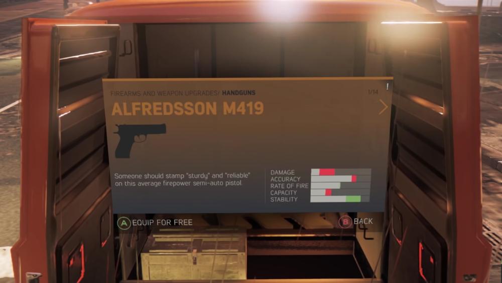 Alfredsson M419