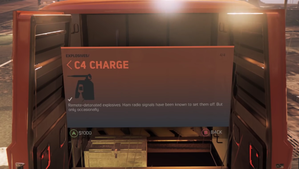 C4 Charge