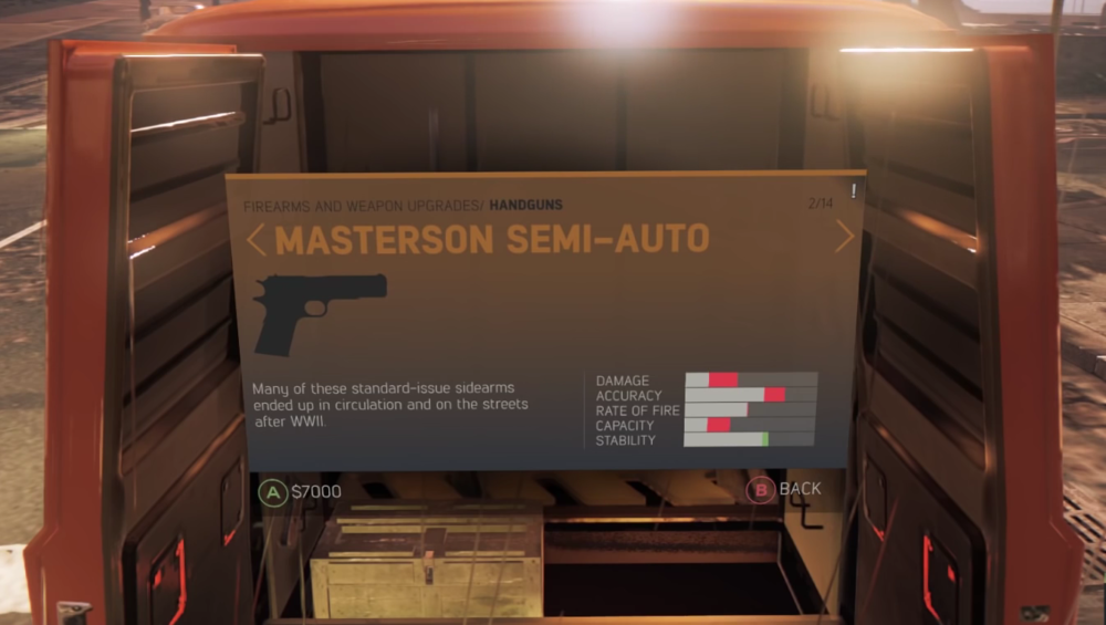 Masterson Semi-Auto