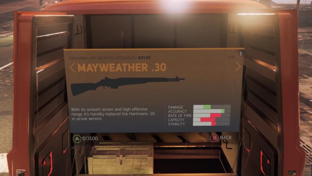 Mayweather .30