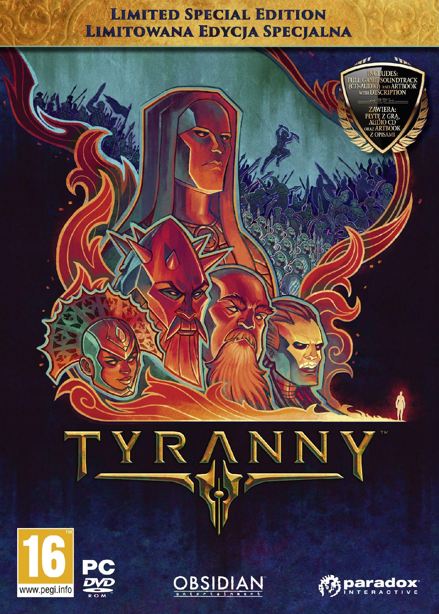 Tyranny Limitowana Edycja Specjalna